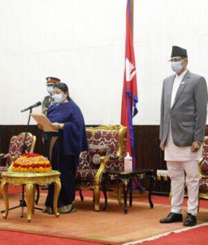 परराष्ट्रमन्त्री खड्काको शपथ ग्रहण बदरको माग गर्दै सर्वोच्चमा रिट